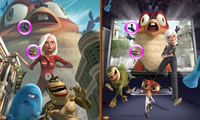 Monsters Vs Aliens - Similarities