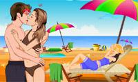 Paris Hilton Kiss
