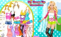 Barbie Motor Model Dress Up